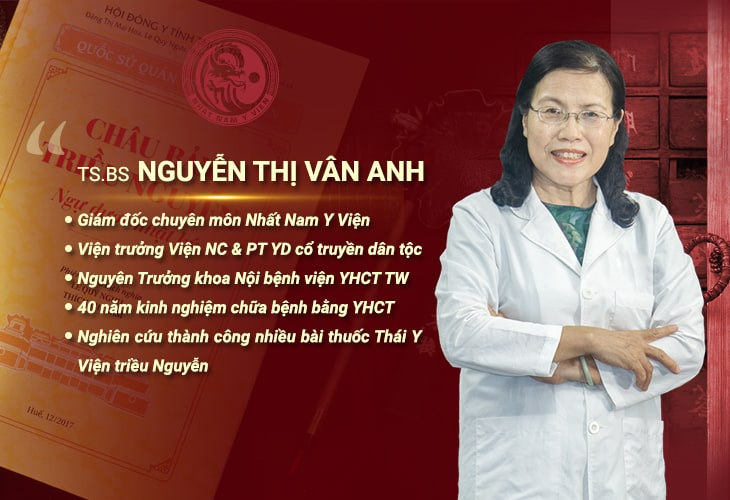 Tiến sĩ - Bác sĩ CKII Nguyễn Thị Vân Anh đảm nhiệm nhiều chức vụ quan trọng trong nền YHCT Việt Nam
