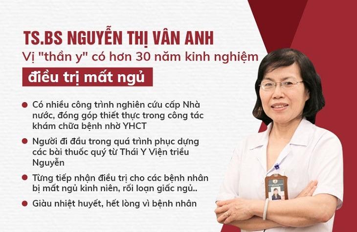 Tiến sĩ - Bác sĩ Nguyễn Thị Vân Anh là người trực tiếp thực hiện đề án nghiên cứu