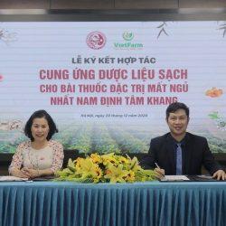 Nhất Nam Y Viện và Trung tâm dược liệu VietFarm hợp tác cung ứng dược liệu sạch