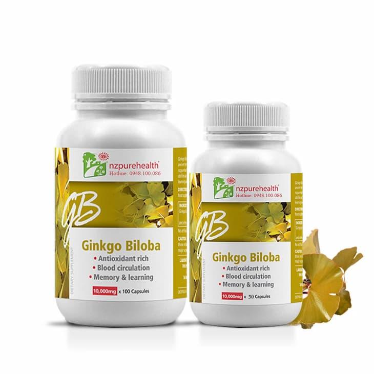 Ginkgo biloba là một trong những loại thuốc tăng cường tuần hoàn não