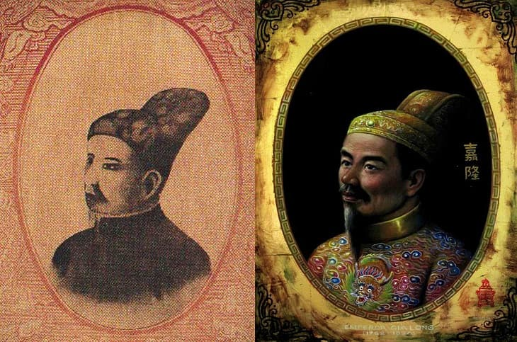 Ảnh minh họa vua Gia Long