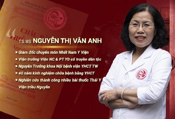 TS.BS Nguyễn Thị Vân Anh - Vị bác sĩ có tâm, có tầm
